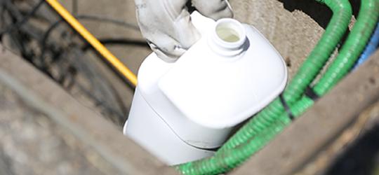 lubrifiant a base d'eau pour conduite télécoms