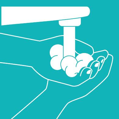 se laver les mains avec un point d'eau mobile